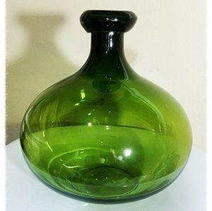 Handmade man blown Vase